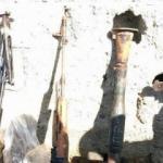 PKK'nın suikast silahları ele geçirildi