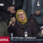 AK Parti Grup Toplantısı'na damga vuran teyze