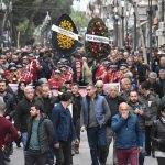 Zihinsel engelli vatandaşın cenazesine binlerce kişi katıldı