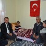 Terör saldırısında yaralanan asker babaevine getirildi