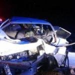 Çorum'da feci kaza: 3 ölü, 1 yaralı