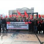 Ahıska Türklerinden Zeytin Dalı Operasyonu'na destek