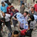 İdlib'de sivillere saldırı: Onlarca ölü var