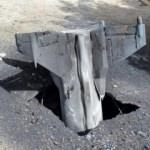 İsrail'e ait roket kalıntıları Lübnan'a düştü