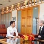 Japonya Başkonsolosu'ndan Galatasaray'a ziyaret