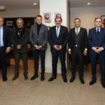 Kulüpler Birliği Vakfı, TFF'yi ziyaret etti