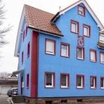 Almanya'da bordo-mavi bir ev! Trabzonspor aşkı...