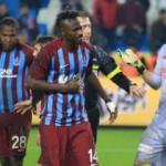 Trabzon'da maçın kahramanı konuştu