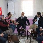 Milletvekili Petek'ten gazi ailesine ziyaret