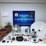 Sakarya'da uyuşturucu operasyonları