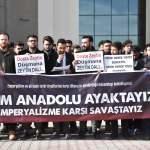 Üniversiteli öğrencilerden Zeytin Dalı Harekatı'na destek