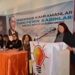 AK Parti Akseki Kadın Kolları 5. Olağan Kongresi