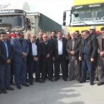 Konya'da 300 tırla Zeytin Dalı Harekatı'na destek konvoyu