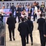 Ataman - Obradovic gerginliği sürüyor! Küfürler...