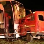 Amasya'da feci kaza!