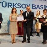 """""""TÜRKSOY Basın Ödülü"""" töreni"""