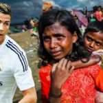 Ronaldo Müslüman çocukları unutmadı!