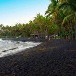 Siyah kumlu plajlar dünyanın nerelerindedir?