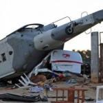 Meksika'da bakanı taşıyan helikopter düştü: 13 ölü