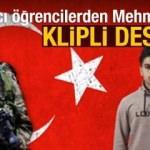 Yabancı öğrenciler, Mehmetçik'e böyle destek verdi