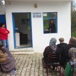 Bodrum'da zeytin ağacı bakımı anlatıldı
