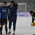 Juventus maçına kar engeli!