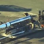 Çok gizli! ABD roketi görüntülendi...