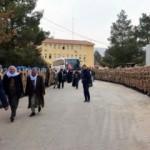 Afrin'e böyle uğurlandılar!
