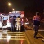 Ciple kamyonet çarpıştı: 1 ölü, 5 yaralı