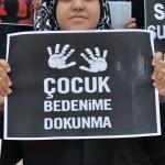 """KMÜ öğrencileri """"cinsel istismara"""" tepki gösterdi"""