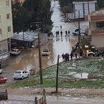 Osmaniye'de şiddetli dolu yağışı