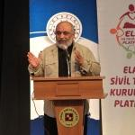 """Elazığ'da """"Kudüs'ten Afrin'e Emperyalist Hesaplar"""" konferansı"""