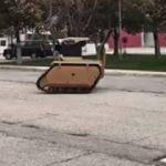 İnsansız kara aracının ilk görüntüleri paylaşıldı!