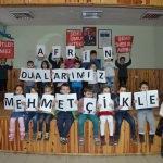 Karabük'te öğrencilerden Zeytin Dalı Harekatı'na destek