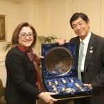 Japonya'nın Ankara Büyükelçisi Miyajima: