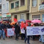Simav'da Zeytin Dalı Harekatı'na destek yürüyüşü