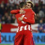 Atletico Madrid Sevilla'yı perişan etti