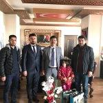 Engellilerden Kaymakam Öztürk'e ziyaret
