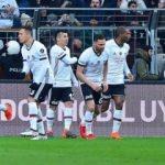 Kupada üstünlük Beşiktaş'ta