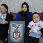 MPS hastası öğrencinin Beşiktaş hayali gerçek oldu