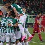 Giresunspor gol şovla 3 puana uzandı