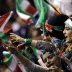 İran'da 35 kadın taraftar gözaltına alındı