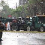 NATO konvoyuna bombalı araçla saldırı!