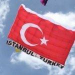 Tayland'daki festivalde dev Türk Bayrağı uçurdular