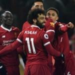 Salah atıyor Liverpool kazanıyor