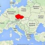 Salih Müslüm'ün yakalandığı Çekya nerede? Harita üzerindeki konumu!