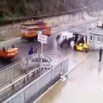 Yer: İstanbul! Patron araçları yola fırlattı