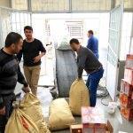 Darende'deki okullardan Arakan'a yardım