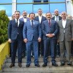 Ankara İl Emniyet Müdürü Yılmaz'dan Ankaragücü'ne ziyaret