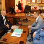 Kocaoğlu'ndan AK Parti'ye ziyaret